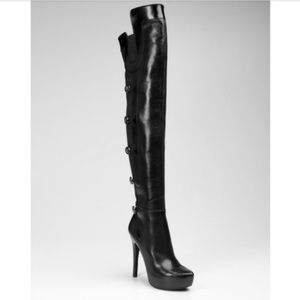 910f7cbb42e Guess by Marciano Shoes - Guess Marciano Netania Over The Knee 50 50 Boots.